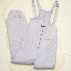 Herman's Women's Lavender Snow Suit/Ski Pants SZ M
